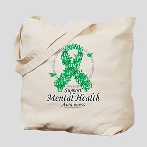 Mental Health Ribbon of Butte Tote Bag