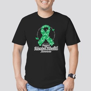 Mental Health Ribbon of Butte Men's Fitted T-Shirt