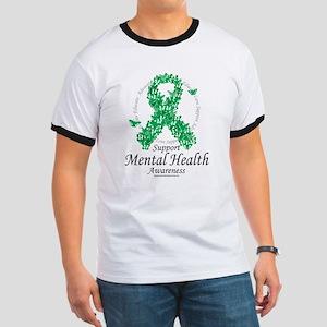 Mental Health Ribbon of Butte Ringer T