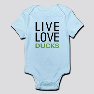 Live Love Ducks Infant Bodysuit