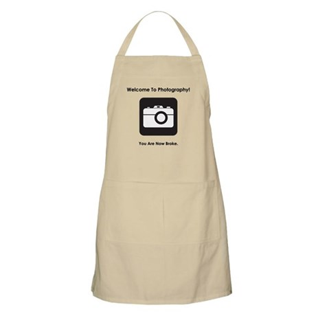Welcome To Photography! Apron