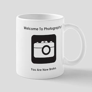 Welcome To Photography! Mug