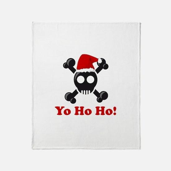 Yo Ho Ho! Throw Blanket