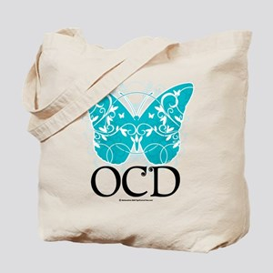 OCD Butterfly Tote Bag