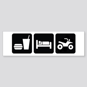 Eat Sleep ATV Sticker (Bumper)