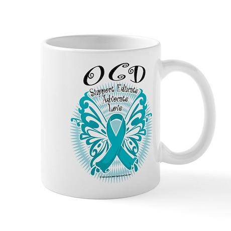 OCD Butterfly 3 Mug