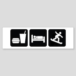 Eat Sleep Snowboard Sticker (Bumper)