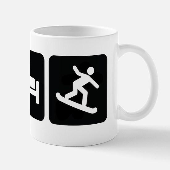 Eat Sleep Snowboard Mug