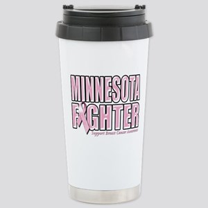 Minnesota Breast Cancer Fighter Stainless Steel Tr