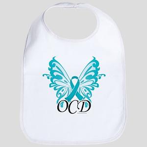 OCD Butterfly Ribbon Bib
