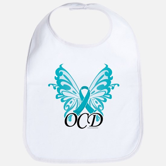 OCD Butterfly Ribbon Bib