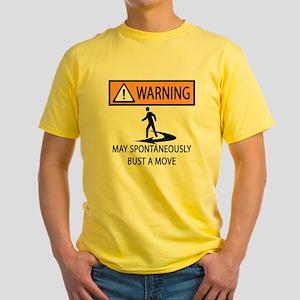 Spontaneous Dancer Yellow T-Shirt