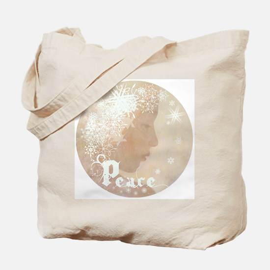Peace (Snow Angel) Tote Bag