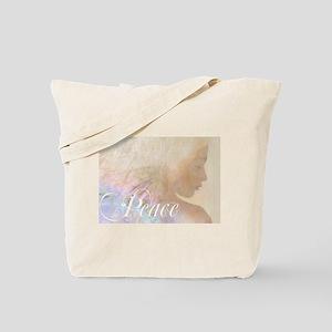 Peace (Christmas Angel) Tote Bag