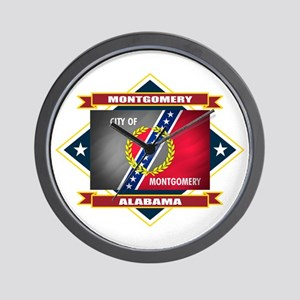 Montgomery Flag Wall Clock