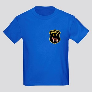 K9 Police Officers Kids Dark T-Shirt