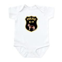 K9 Police Officers Infant Bodysuit