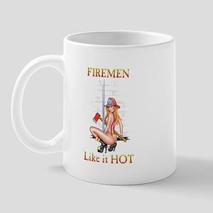 Firemen Like it HOT! Mug