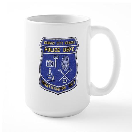 Kansas City Police ID Unit Large Mug
