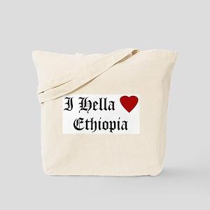 Hella Love Ethiopia Tote Bag