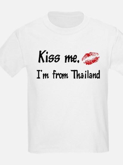 Kiss Me: Thailand Kids T-Shirt