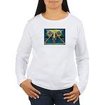 Dance Mask Women's Long Sleeve T-Shirt