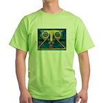 Dance Mask Green T-Shirt