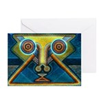 Dance Mask Greeting Cards (Pk of 10)