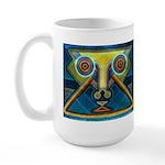 Dance Mask Large Mug