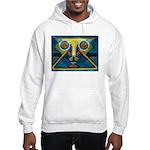 Dance Mask Hooded Sweatshirt