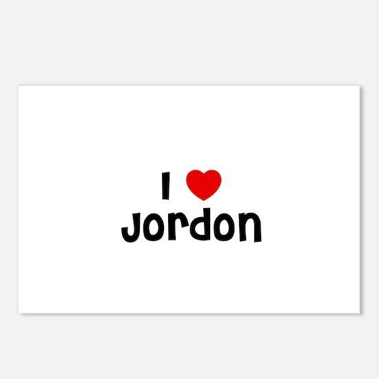 I * Jordon Postcards (Package of 8)
