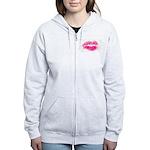 pink kiss Women's Zip Hoodie
