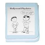 Hollywood Playdates baby blanket