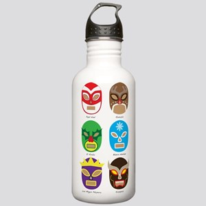 Lucha Libre Navidad Stainless Water Bottle 1.0L