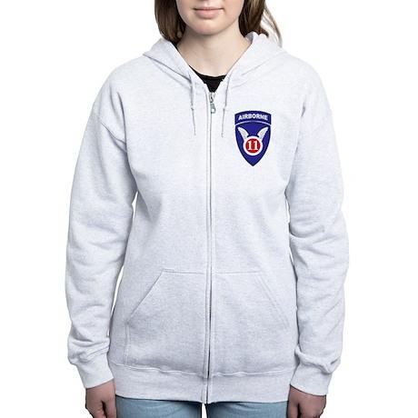 Airborne Women's Zip Hoodie