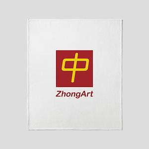 ZhongArt Throw Blanket