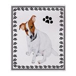 Jack Russell Painting Throw Blanket