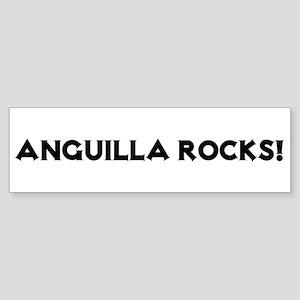 Anguilla Rocks! Bumper Sticker