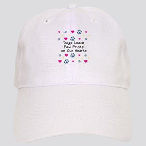 Dogs Leave Paw Prints Cap