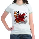 Blood in, Blood out MMA Jr. Ringer T-Shirt