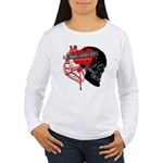 MMA Addict, In the Blood Women's Long Sleeve T-Shi