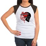 MMA Addict, In the Blood Women's Cap Sleeve T-Shir