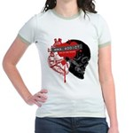 MMA Addict, In the Blood Jr. Ringer T-Shirt