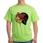 MMA Addict, In the Blood Green T-Shirt
