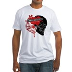 MMA Addict, In the Blood Fitted T-Shirt
