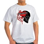 MMA Addict, In the Blood Light T-Shirt