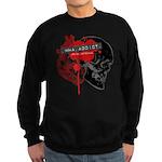MMA Addict, In the Blood Sweatshirt (dark)