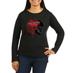 MMA Addict, In the Blood Women's Long Sleeve Dark