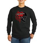 MMA Addict, In the Blood Long Sleeve Dark T-Shirt
