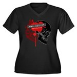 MMA Addict, In the Blood Women's Plus Size V-Neck